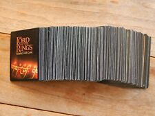 Lord of the Rings TCG Lot of 225 misc. card lot w/12 foils