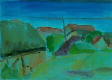 """Pohl, Joachim (1947 Berlin, lebt in Berlin) """"Loddin / Usedom"""" / Ostsee"""