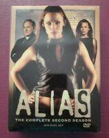 Alias - The Complete Second Season (DVD, 2003, 6-Disc Set)