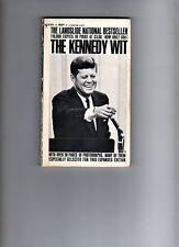 THE KENNEDY WIT  -  BY JOHN F KENNEDY - BANTAM  - USA P/BACK  - 1964