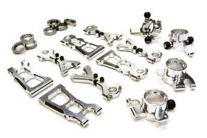 INTEGY RC C26306 Billet alloy Machined Suspension Kit for HPI Scale E10 On-Road