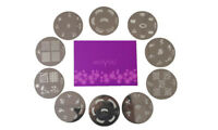 Original MoYou Nail Art Image Stamp Stamping Plate Manicure Design