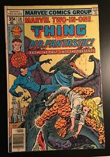 MARVEL TWO-IN-ONE #36 THE THING & MR FANTASTIC Feb 1978 Marvel **GREAT SHAPE**