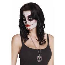 Day of the Dead Skull Necklace Halloween Fancy Dress