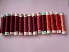 15 bobines de fil de soie Gutermann 12 reels of thread Gutermann silk(12)