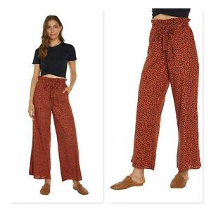 O'NEILL X Imogen Caldwell | Womens Boronia Pants  NEW [ Size AU 14 or US 10 ]