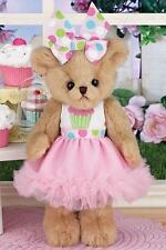Bearington Bear Sweetie Cakes Collectible Teddy Bear