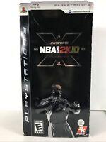 NBA 2K10 LOCKER PS3 10th ANNIVERSARY COLLECTORS EDITION KOBE BRYANT (E1)