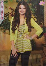 SELENA GOMEZ - A2 Poster (XL - 42 x 55 cm) - Clippings Fan Sammlung NEU