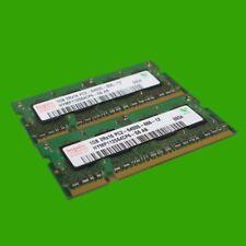 Hynix HYMP112S64CP6-S6 AB S0 Speicher 2 GB (2x 1 GB) DDR2  PC2-2 6400S Notebook