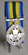 Canada Canadian Peace Officer Exemplary Service Full Size Medal Replica