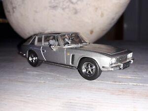 Jensen Interceptor, -  Silver Model Car, Oxford Diecast Scale 1:43