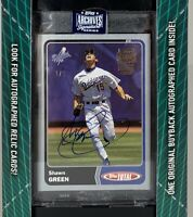 2020 Topps Archives Signatures 1/1 SHAWN GREEN Blue Jay's 2003 Topps Total