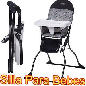 Silla De Comer Para Bebes Sillita Alta Mesa Comedor De Bebe Portavasos Calidad