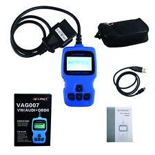 VAG007 VW/AUDI OBDII Scan Support Oil Reset Fast Diagnosis VAG007 Code Reader