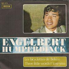 """45 TOURS / 7""""-ENGELBERT HUMPERDINCK-LES BICYCLETTES DE BELSIZE """"IMPORT ESPAGNOL"""""""