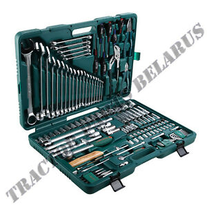 Jonnesway Tools 128 Pieces Socket Set (S04H524128S)