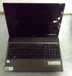 Acer Aspire 5750Z-4217 Intel Pentium B950 2.10GHz 2GB Ram No HDD/Batt/PS