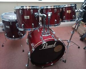 Vintage Pearl DLX Drum Kit 5 shell pack, great condition, priced to sell,