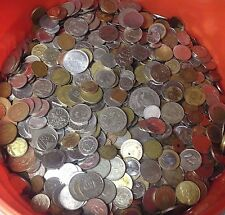 5 lbs of WORLD FOREIGN COINS, mixed bulk lots by the pound! Many Countries!