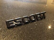 MK 2 ESCORT RS2000 BOOT BADGE Genuine NOS Rare!! RS1800