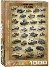 Eurographics World War II Tanks Puzzle 1000 piece