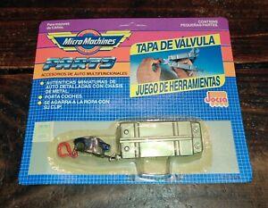 VINTAGE ULTRA RARE MICRO MACHINES ARGENTINA VALVE COVER TOOLKIT  GALOOB MOC