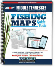 Middle Tennessee Fishing Map Guide - Sportsman's Connection | 8102