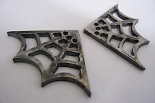 """Hot Gasser Rat Rod Flame Cut Steel Frame Welding Roll Bar Gusset Spider Web 2"""""""