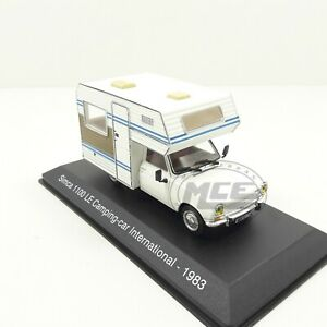 1/43	AUTOCARAVANA CAMPING CAR SIMCA 1100 INTERNATIONAL 1983 HACHETTE
