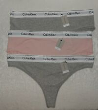 3 Calvin Klein Womens Hipsters & Thong Panties Underwear 3XL NWT FREE SHIPPING