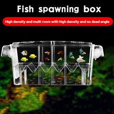Auto-flotante peces Tanque Cría Criador Bebé Fry Trampa de red Recién Nacidos Caja Incubadora