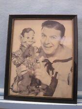 The Howdy Doody Show & Framed Picture of Howdy Doody & Buffalo Bob