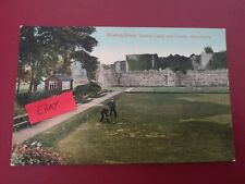 More details for postcard anglesey -  beaumaris bowling green - early 1900's.