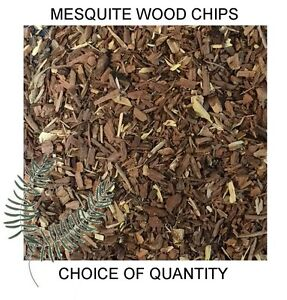 Quality Mesquite Wood Chips for Smoking Ovens, Mesquite Smoker Dust - FAST POST!