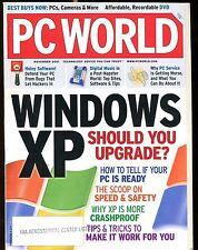 PC World Magazine November 2001 Windows XP FAA EX No ML 022417nonjhe