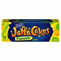 Mcvitie's Jaffa Cakes Pineapple Flavour 10 Pack