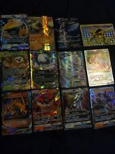 12x lot of Pokemon Ex, GX and MEGA Holo Full Art cards NM/M (unplayed)Charizard!
