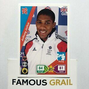 Anthony Joshua - Boxing Rookie Card - Panini Adrenalyn XL London Olympics 2012