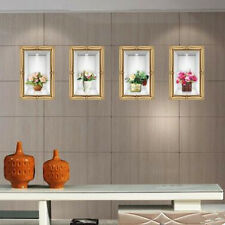 3D Simulation Flower Vase Wall Stickers Decor PVC Removable Home Wallpaper DIY