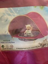 Baby Beach Tent with Pool, Pop Up Collapsible Portable Shade Kiddie Pool Toy