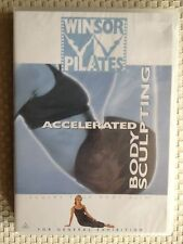 """WINSOR PILATES """"ACCELERATED"""" BODY SCULPTING DVD ~ BRAND NEW & SEALED ~ FREE POST"""