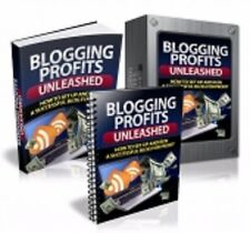 Collection of 10 ebooks on how to blog for money