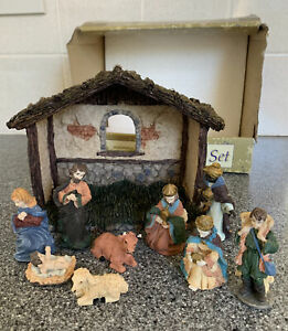Woolworths Collection Christmas Nativity Set Vintage Retro