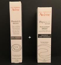 Avene Physiolift Night Regenerating Balm 30ml + Physiolift Wrinkle Filler 15ml