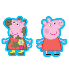 Peppa Pig Party Mud Supershape Helium Foil  Balloon  2 Sided Decoration