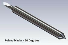60° Blade for Roland Cutter Cemented Carbide