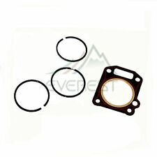 NEW HONDA GX340 11HP PISTON RINGS RING SET AND CYLINDER HEAD GASKET