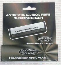 Acc-sees apv015 calidad fibra de carbono, fibra Antiestática Disco De Vinilo Limpiador Cepillo