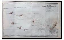 1884 EAST AFRICA - Mombasa - CHILD SLAVERY - Masai Rituals - COLOR MAP -10